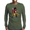 warrior Mens Long Sleeve T-Shirt