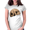 warrior mon Womens Fitted T-Shirt