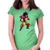 warrior Womens Fitted T-Shirt