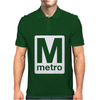 Washington Dc Metro Mens Polo