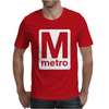 Washington Dc Metro Mens T-Shirt