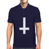 WASTED YOUTH INVERTED Cross INDIE Geek SWAG Funny Mens Polo