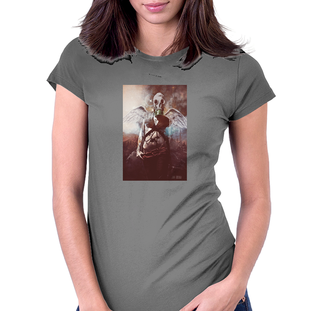 Wasteland Angel Womens Fitted T-Shirt