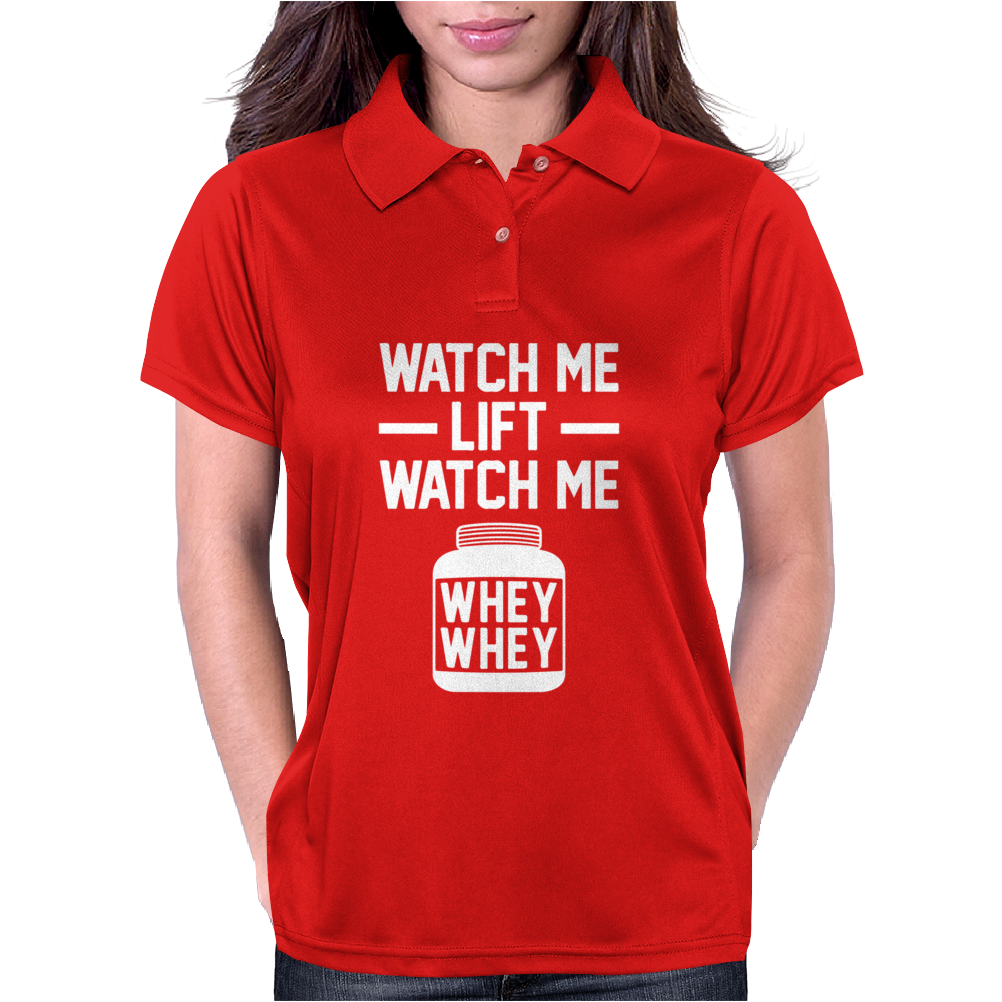 Watch Me Lift Watch Me Womens Polo