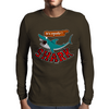 Watch out for shark Mens Long Sleeve T-Shirt