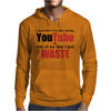 Watching YouTube Mens Hoodie