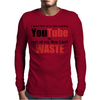 Watching YouTube Mens Long Sleeve T-Shirt