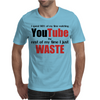 Watching YouTube Mens T-Shirt