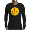 Watchmen Comedian Rorschach Comic Adult Movie Mens Long Sleeve T-Shirt