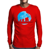 Water Moonwalk Mens Long Sleeve T-Shirt