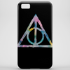Watercolor Deathly Hallows 2 Phone Case