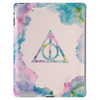 Watercolor Deathly Hallows Tablet (vertical)