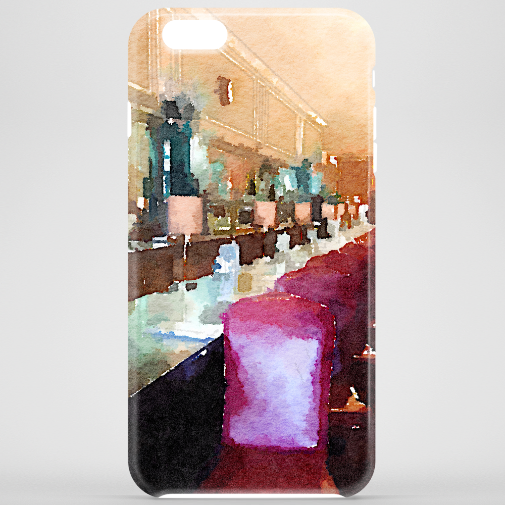 Watercolor Diner Phone Case