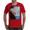 Waterfall with Birds Mens T-Shirt