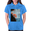 Waterfall with Birds Womens Polo