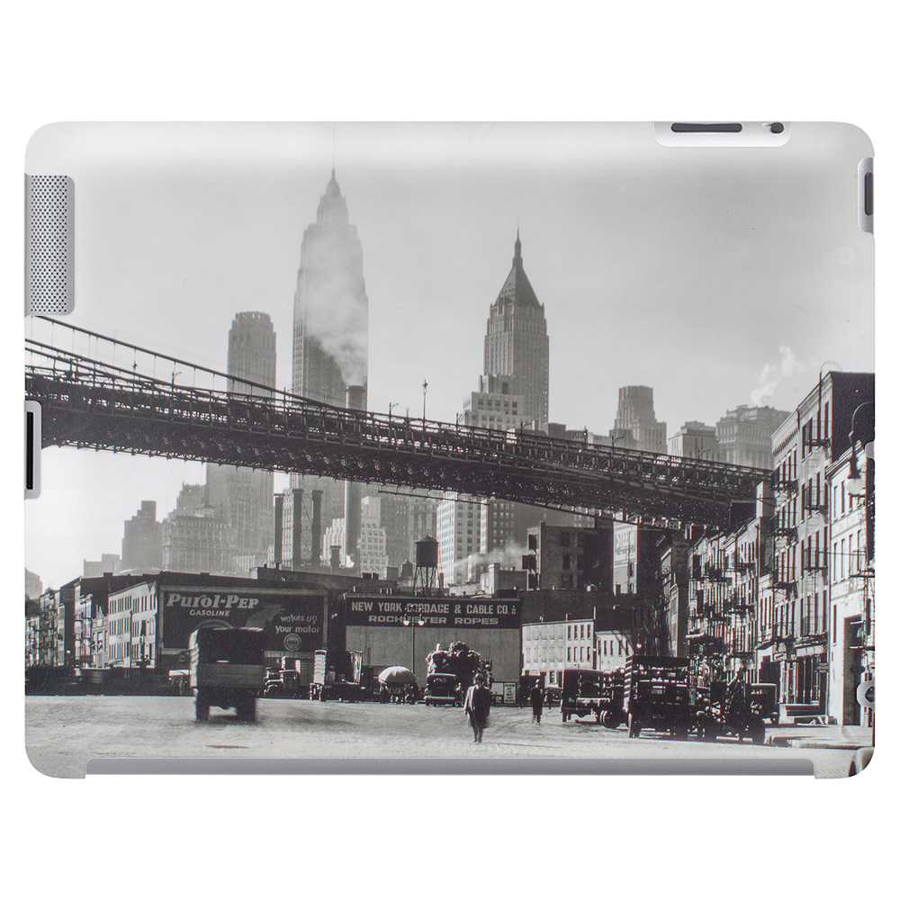 Waterfront, South Street, Manhattan, New York 1935 Tablet