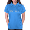 Watson MD - detective Sherlock Holmes House Doctor tv show logo gift tee Womens Polo