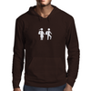 Way to school / white Mens Hoodie