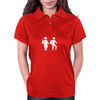 Way to school / white Womens Polo