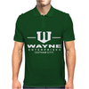 Wayne Enterprises, Gotham City - Batman Bruce comic vintage movie tee Mens Polo