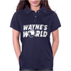 Wayne's World Womens Polo