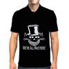 We Are All Mad Here Cheshire Cat Mens Polo