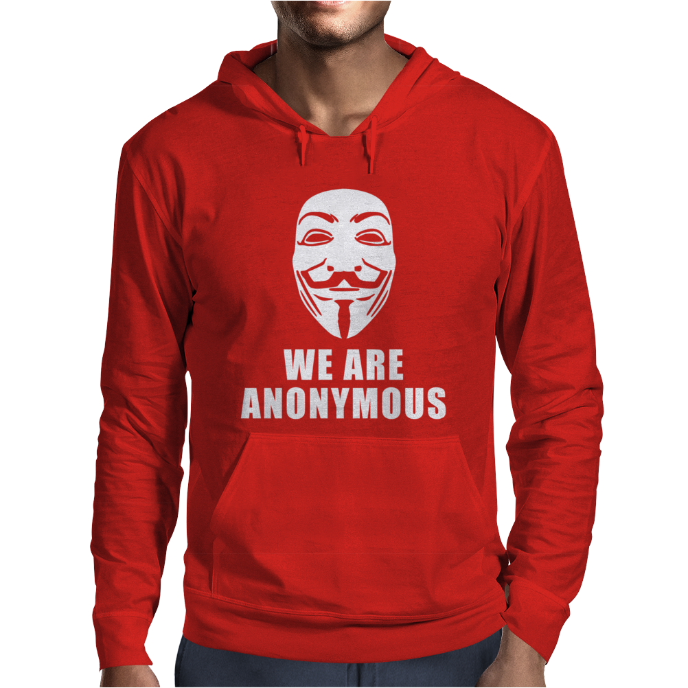 WE ARE ANONYMOUS. Mens Hoodie