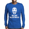 WE ARE ANONYMOUS. Mens Long Sleeve T-Shirt
