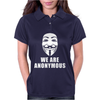 WE ARE ANONYMOUS. Womens Polo