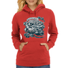 We are from Philly and we Fight. Womens Hoodie