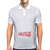 We Are The Resistance Mens Polo