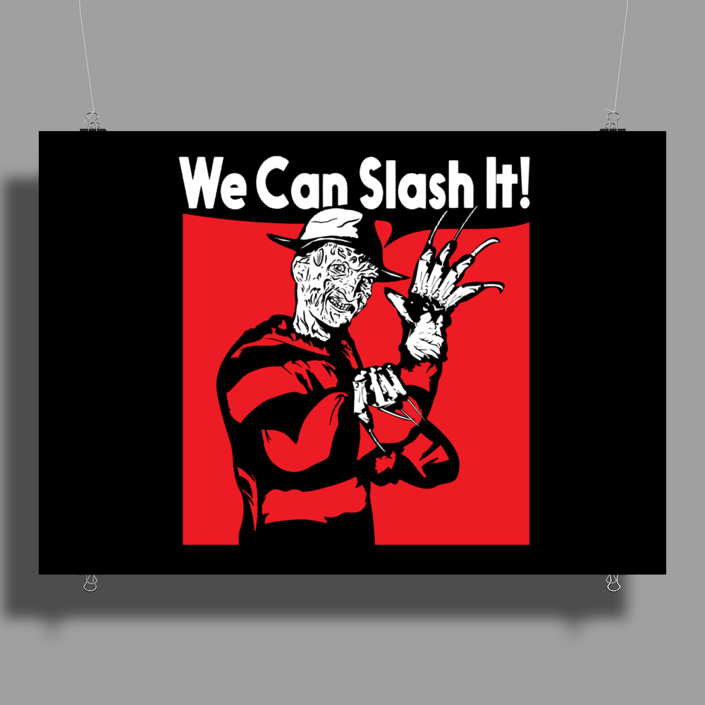 We Can Slash It! Poster Print (Landscape)