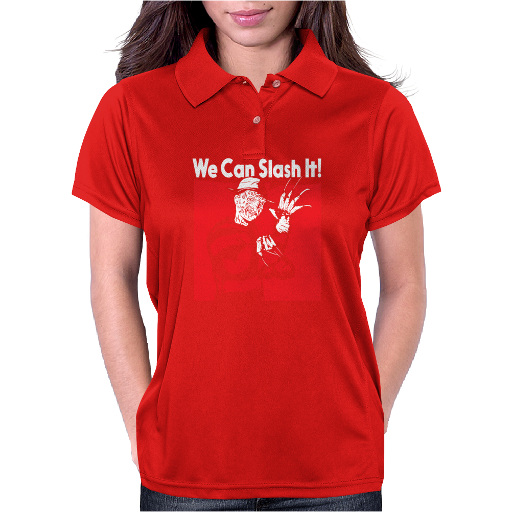 We Can Slash It! Womens Polo