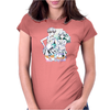 We Looking for the talismans Watercolor Womens Fitted T-Shirt