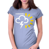 Weather Forecast Symbol Womens Fitted T-Shirt