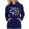 Weather Forecast Symbol Womens Hoodie