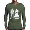 Wedding Funny GAME OVER Mens Long Sleeve T-Shirt