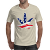 Weed Flagged Mens T-Shirt
