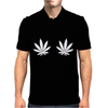 Weed Leaf Mens Polo