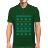 Weed Ugly Sweater Mens Polo