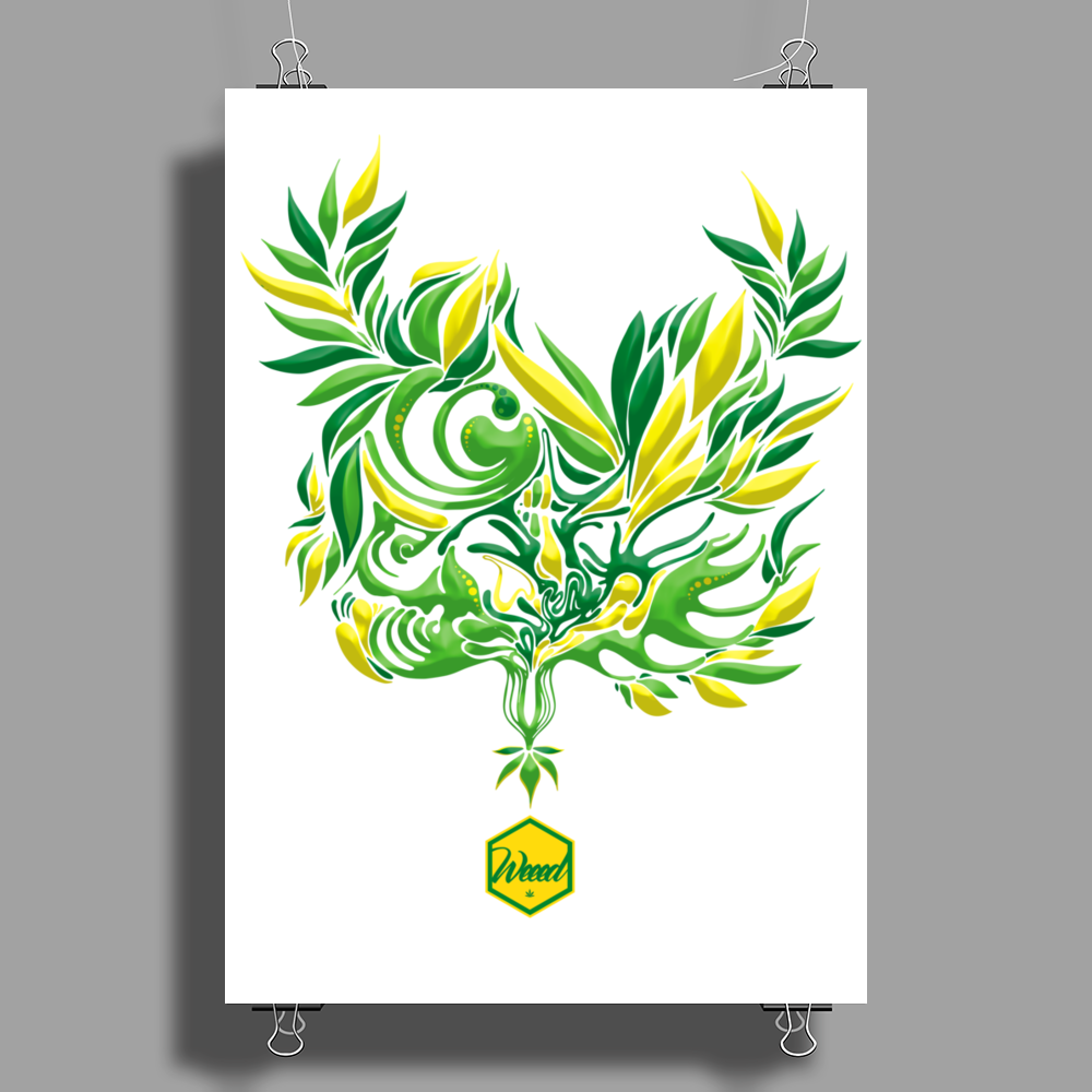 Weeed Expand Poster Print (Portrait)