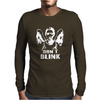 WEEPING ANGEL - WHO - DON'T BLINK - DR - CULT TV Mens Long Sleeve T-Shirt