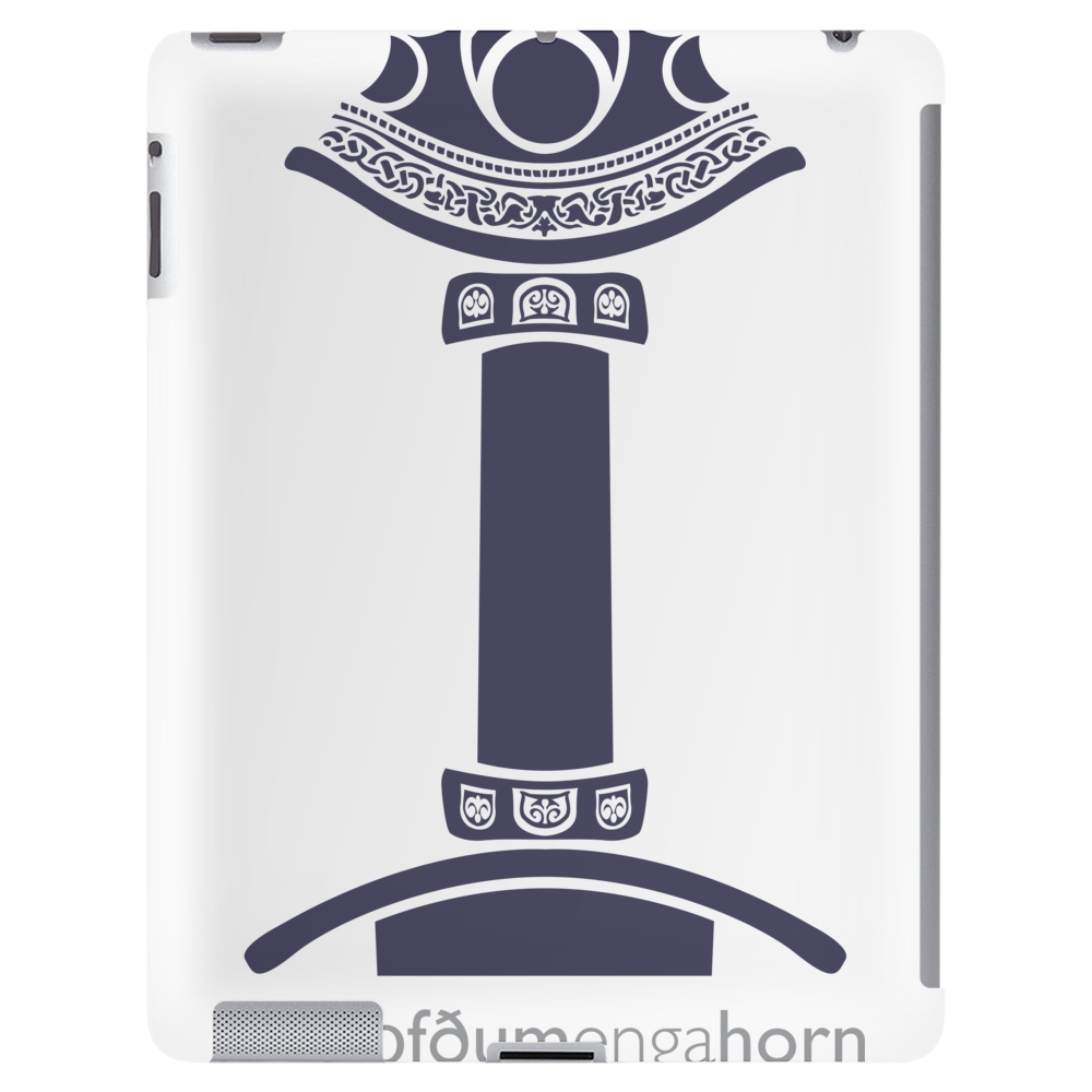 WeHadNoHorns - Viking sword Tablet (vertical)