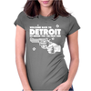 Welcome Back To Detroit Womens Fitted T-Shirt