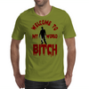 WELCOME TO MY WORLD Mens T-Shirt