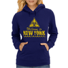 Welcome to New York Womens Hoodie