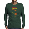 Welcome to the Future SilhouetteHistory Mens Long Sleeve T-Shirt