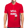 Well Hung Endowed Christmas Stocking Funny Mens Polo