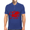 Welsh Dragon Mens Polo