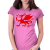 Welsh Dragon Womens Fitted T-Shirt